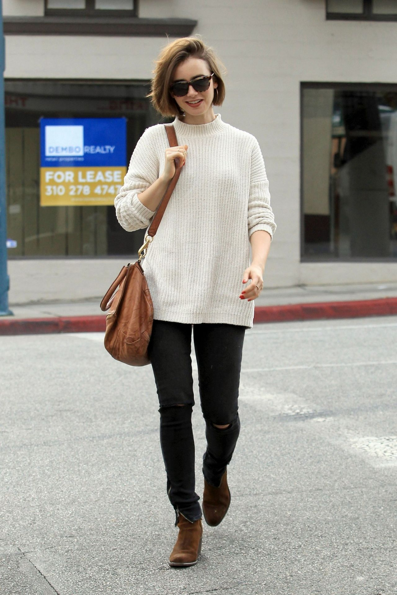 lily collins style 2014