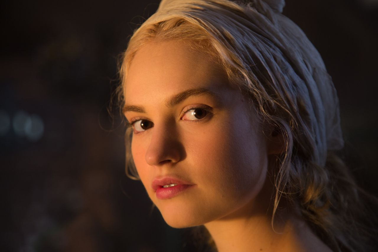 Lily James Image: Lily James And Cate Blanchett