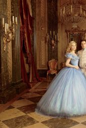 Lily James and Cate Blanchett -