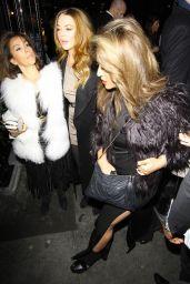Lindsay Lohan & Ali Lohan - LOVE Magazine/Balmain Christmas 2014 Party in London