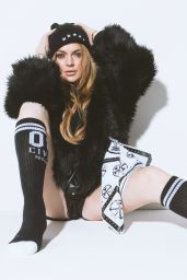 Lindsay Lohan - Civil Clothing Photoshoot (2014)