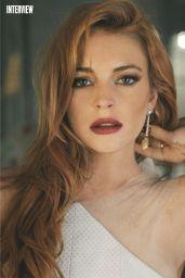Lindsay Lohan - Marie Claire Magazine (UK) November 2014 Issue