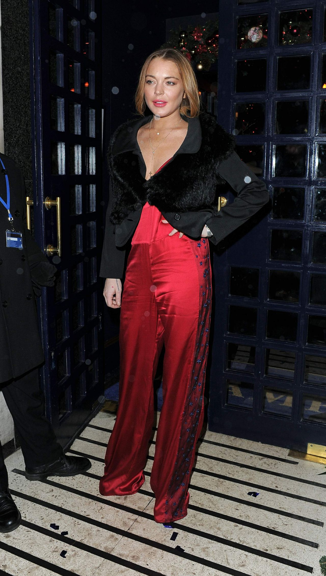 Times Style Mag: Lindsay Lohan Night Out Style