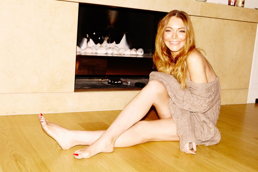 Lindsay Lohan - Photoshoot for Into The Gloss - December 2014