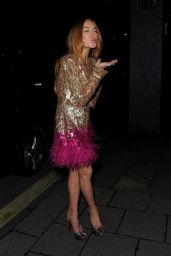 Lindsay Lohan Style - Chopard Party at Annabel
