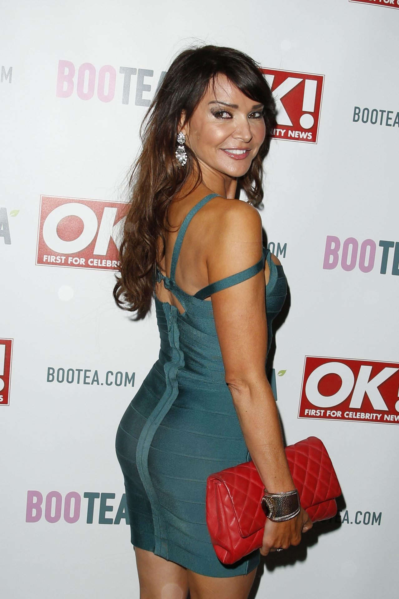 Lizzie Cundy - Sanctum Soho Hotel Christmas Party in London - December 2014