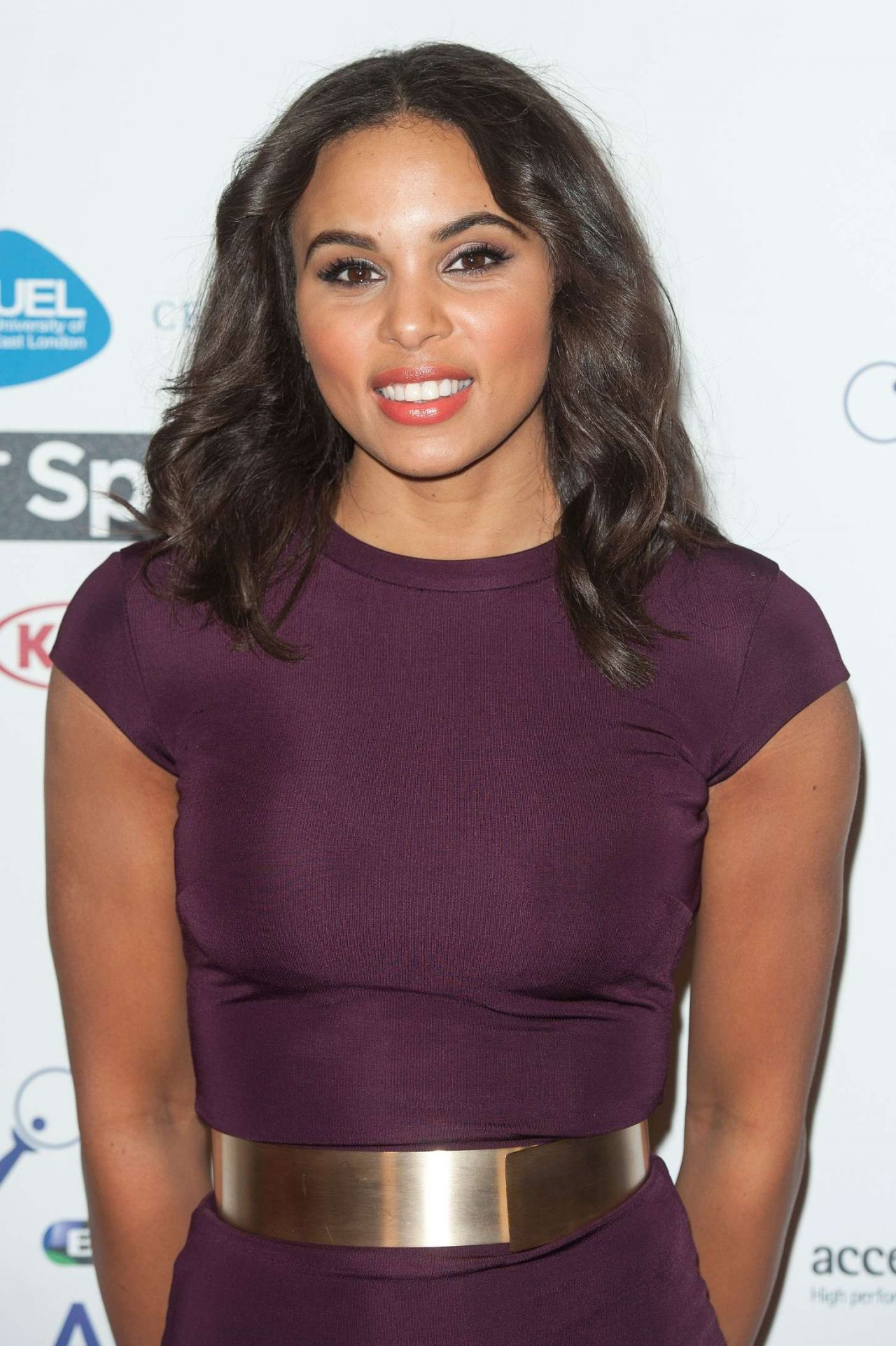 Louise Hazel – 2014 BT Sport Action Woman Awards in London