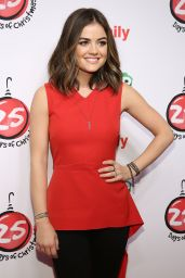 Lucy Hale – ABC's 25 Days Of Christmas Celebration in NYC – December 2014