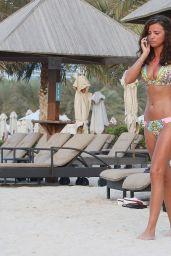 Lucy Mecklenburgh in a Bikini - Dubai, November 2014