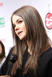 Maia Mitchell – ABC's 25 Days Of Christmas Celebration in NYC – December 2014