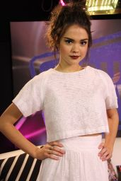 Maia Mitchell - Appeared on Young Hollywood Studio in Los Angeles, December 2014