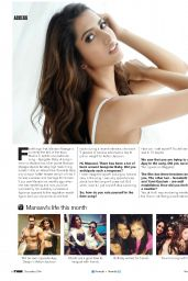 Manasvi Mamgai - FHM Magazine (India) - December 2014 Issue