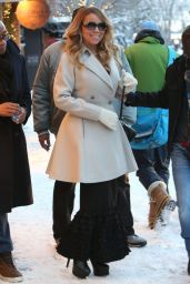 Mariah Carey - Out Shopping in Aspen - December 2014