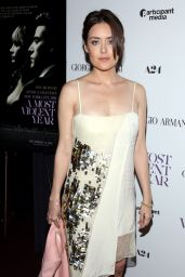 Megan Boone – 'A Most Violent Year' Premiere in New York City