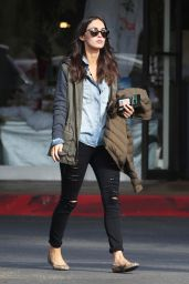 Megan Fox Street Style - Out in LA, December 2014