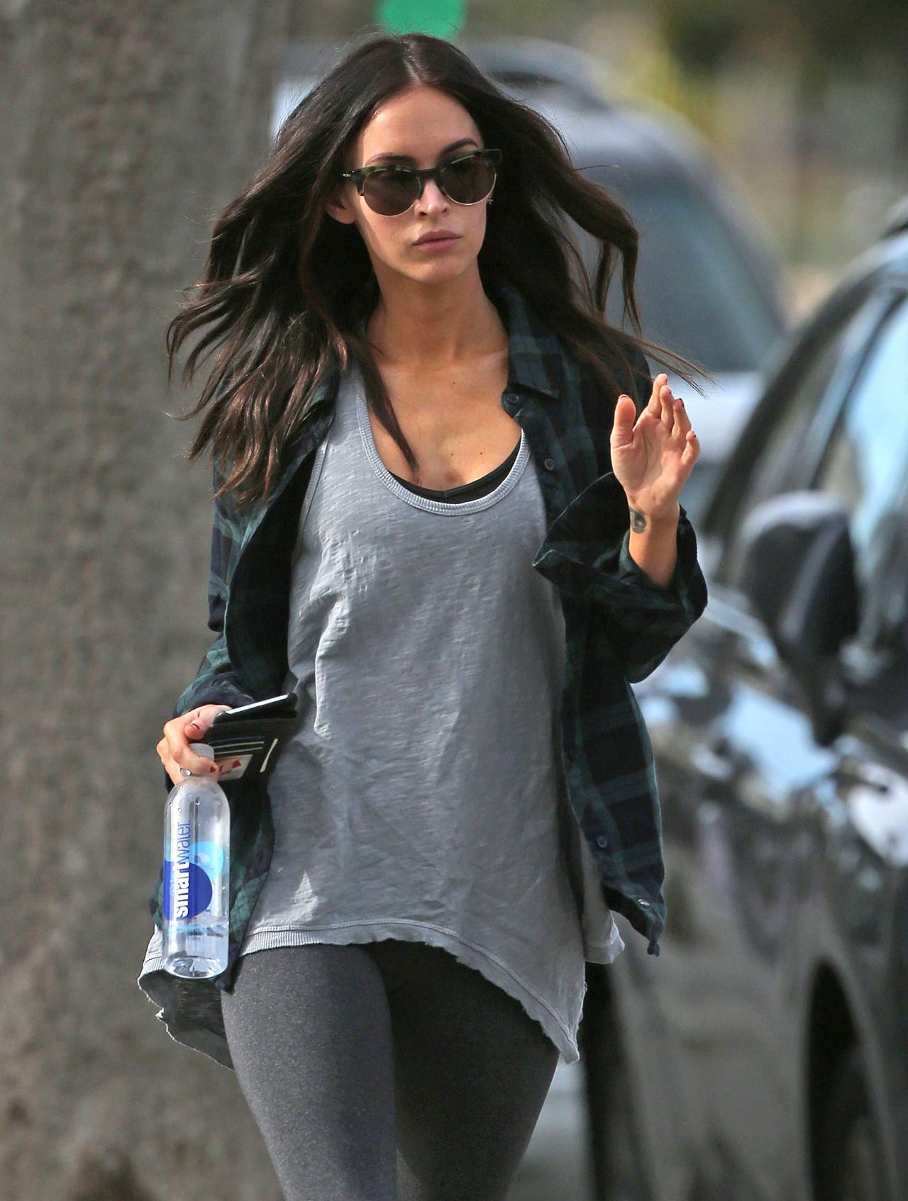 megan fox street style out in los angeles december 2014