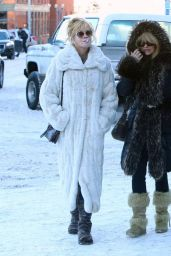 Melanie Griffith and Goldie Hawn - Out Together in Aspen - December 2014