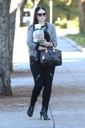 Michelle Trachtenberg Style - Out in Los Angeles, December 2014