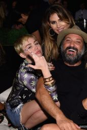 Miley Cyrus at Hublot Haute Living Party in Miami Beach - December 2014
