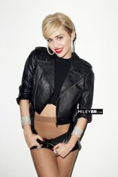 Miley Cyrus - Golden Lady Photoshoot (2014)