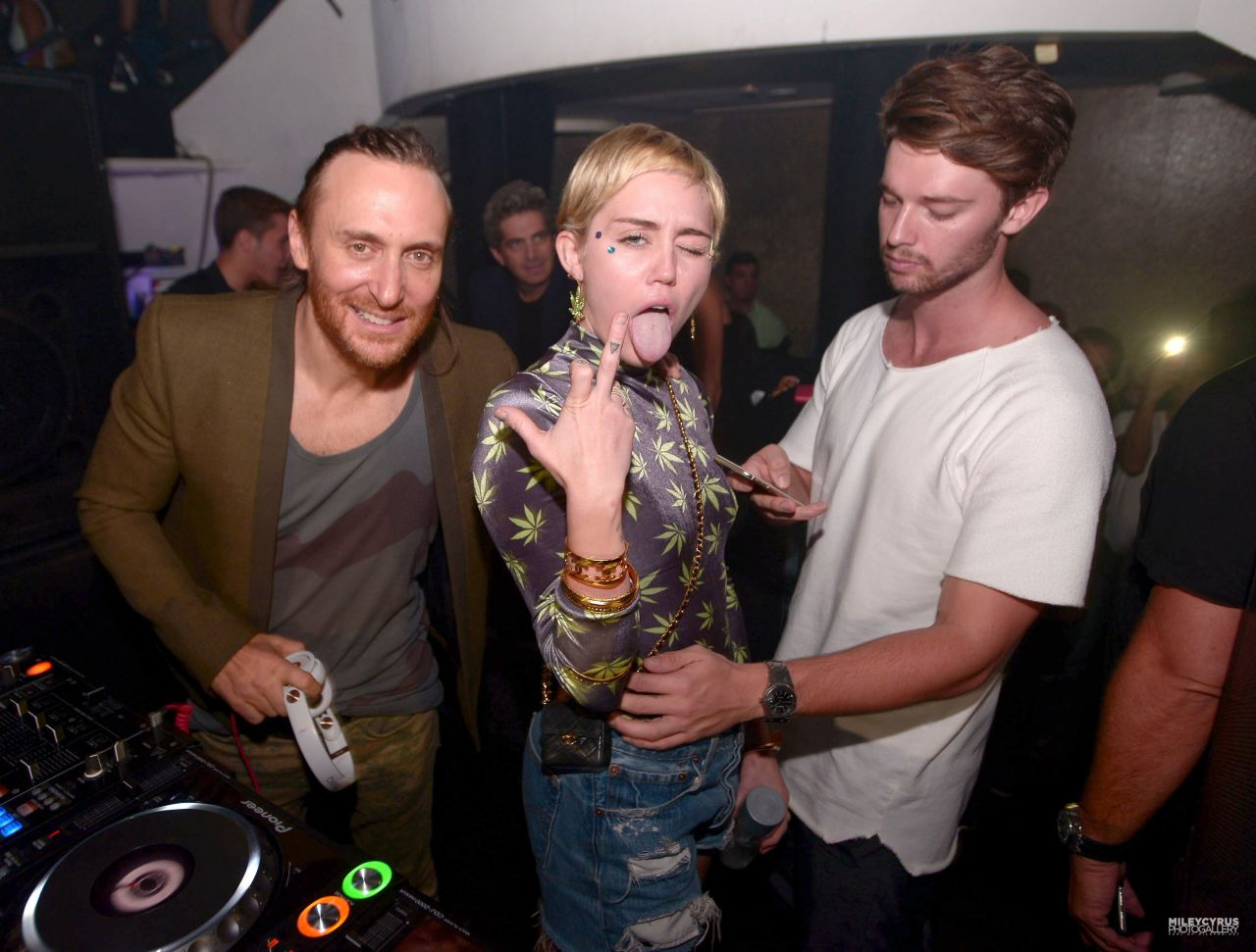 Miley Cyrus Night Out Style