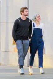 Miley Cyrus With New Boyfriend Patrick Schwarzenegger - Out in Beverly Hills, December 2014