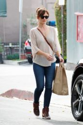 Minka Kelly Booty in Jeans - Out in West Hollywood, December 2014