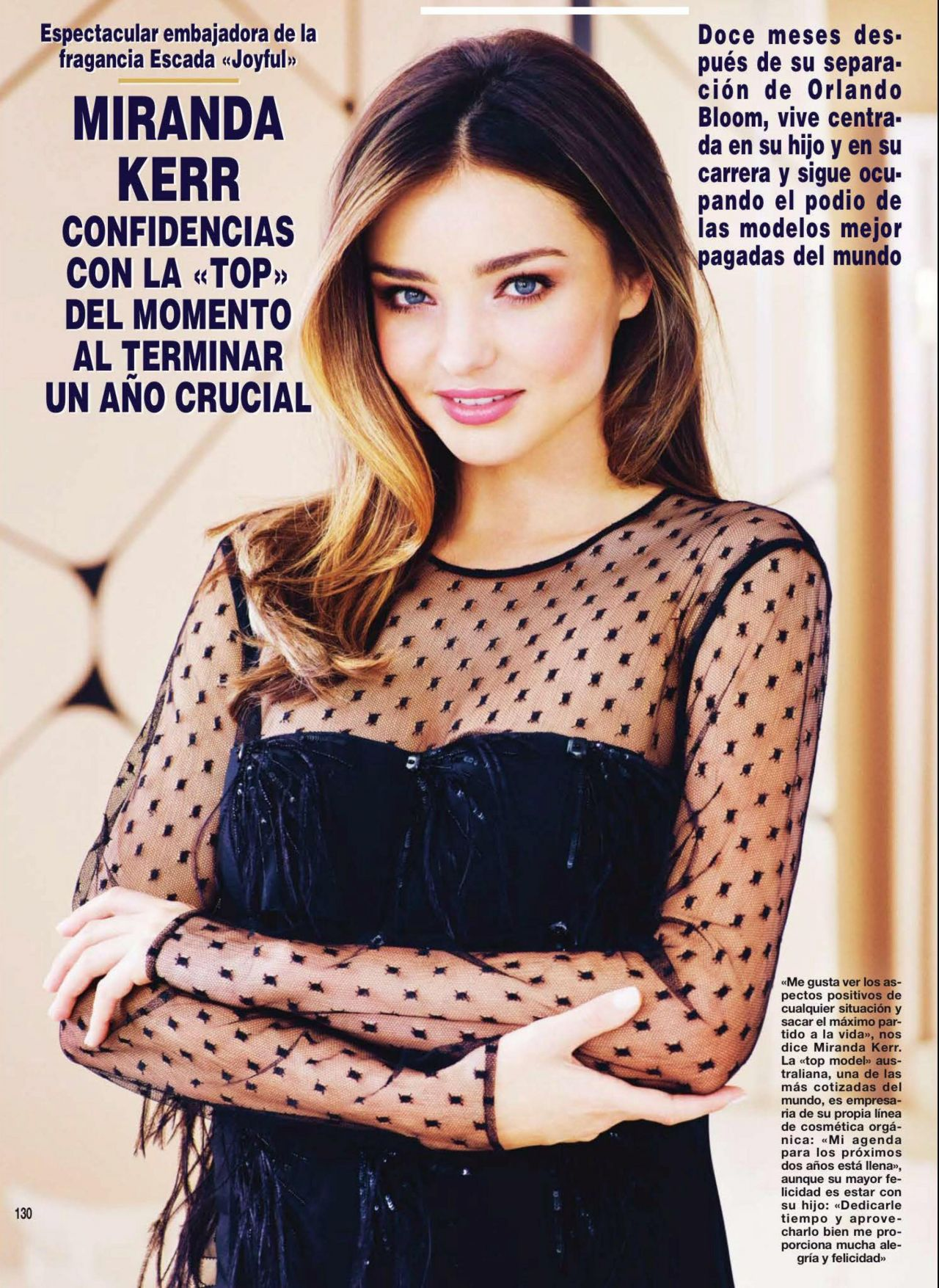 Miranda Kerr - Hola! Magazine (Spain) - December 2014 Issue