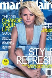 Miranda Lambert - Marie Claire Magazine January 2015 Issue