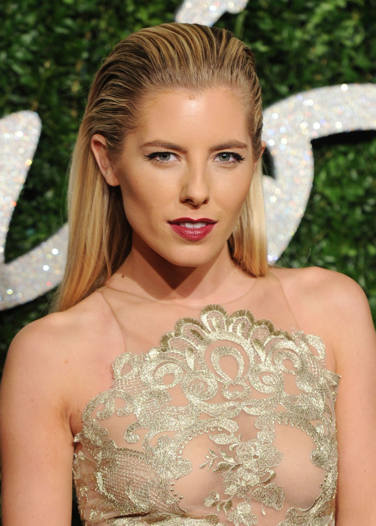 Mollie King 2014 British Fashion Awards In London