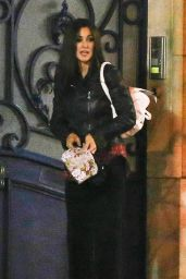 Monica Bellucci  - Leaving Her House in Paris, December 2014