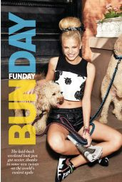 Nadine Leopold - Cosmopolitan Magazine (Australia) - February 2015 Issue