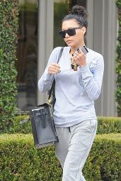 Naya Rivera Sport Style - Out in West Hollywood - December 2014