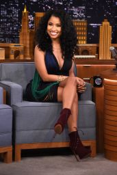 Nicki Minaj - On the Tonight Show starring Jimmy Fallon in New York City, December 2014