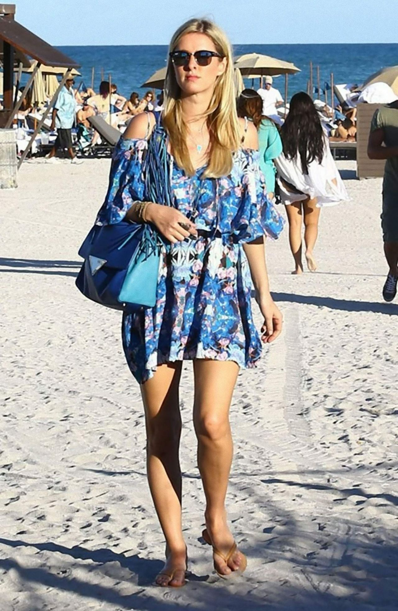 Nicky Hilton in Summer Dress