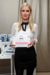 Nicky Hilton Promoting Philips Sonicare and Philips Zoom in New York City - December 2014