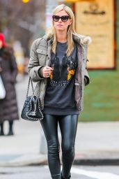 Nicky Hilton Street Style - Out in New York City, November 2014