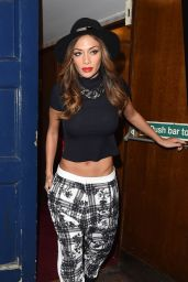 Nicole Scherzinger - Leaving the London Palladium After Performing in
