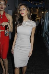 Nicole Scherzinger Night Out Style - at Kingly Club in London - Dec. 2014
