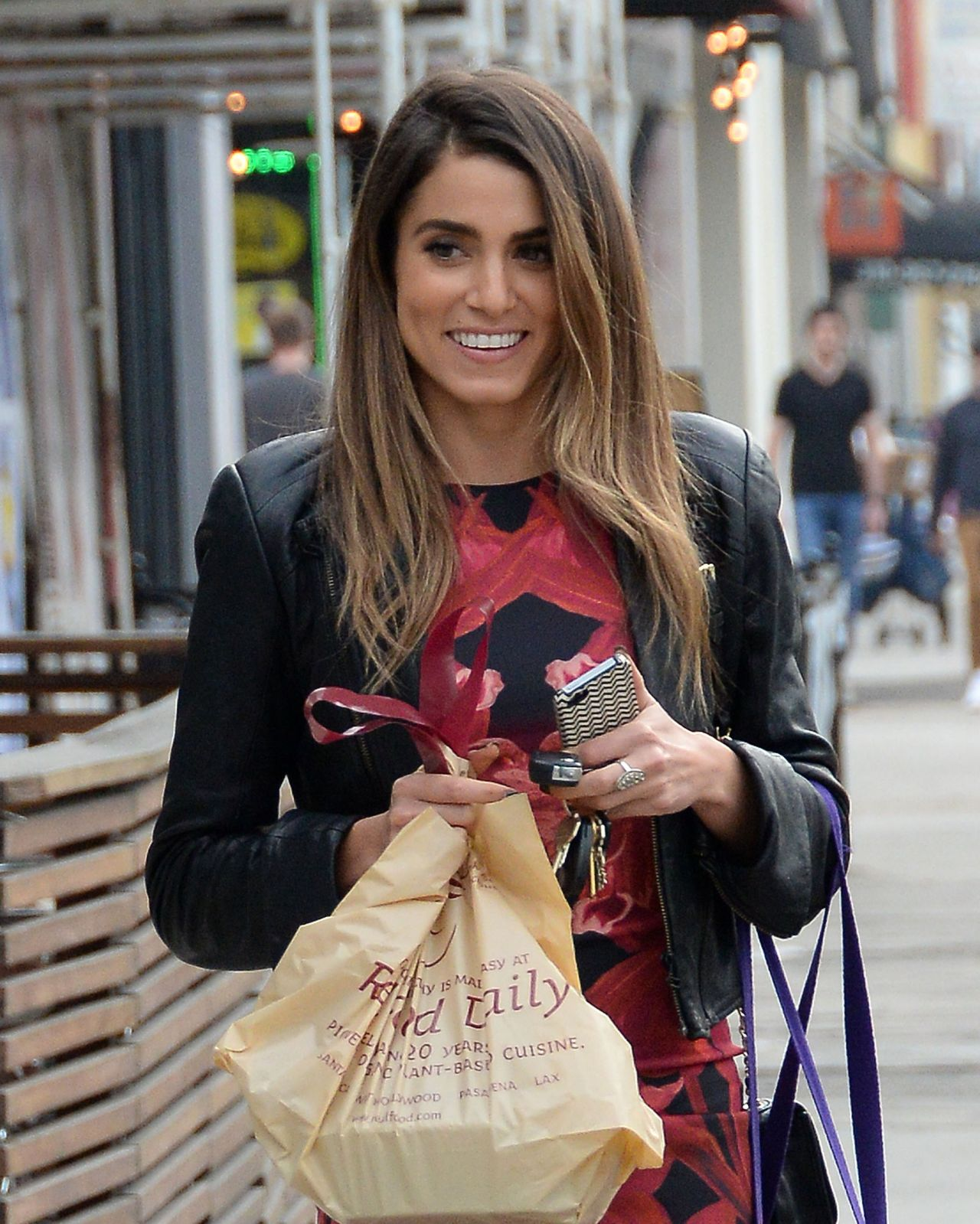 Nikki Reed - Having Lunch With Friends in West Hollywood - December 2014