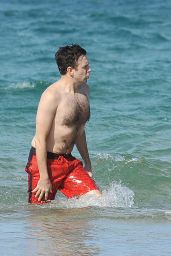 Olivia Wilde Bikini Candids - at a Beach in Maui - December 2014