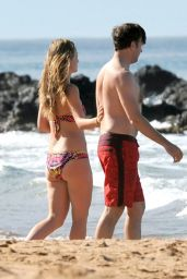 Olivia Wilde Bikini Pics - Maui, Hawaii, on December 2014
