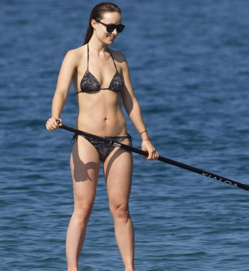 Hot Olivia Wilde Bikini Candids in Hawaii HQ   Olivia