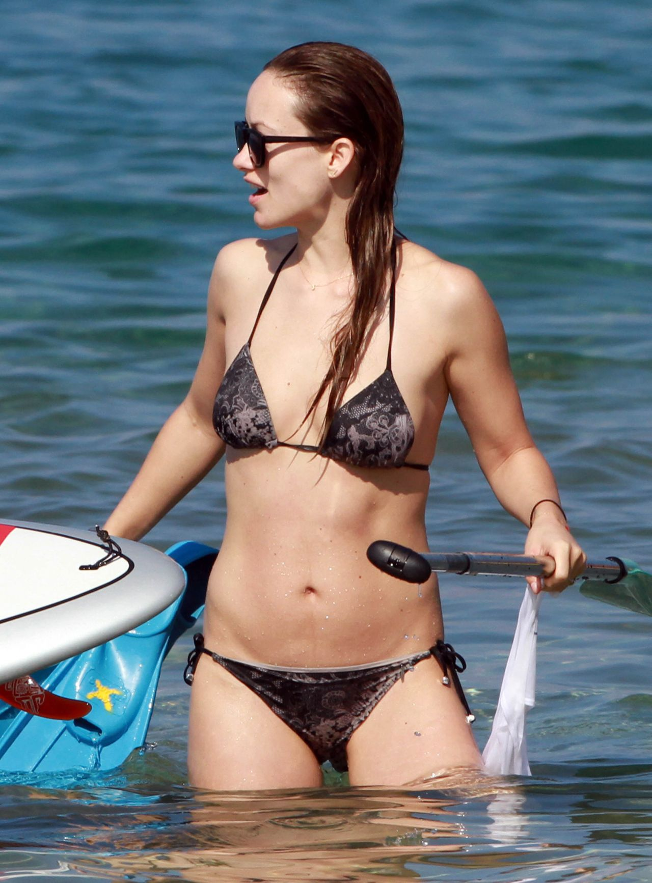 Olivia Wilde Bikini Pictures At A Beach In Maui