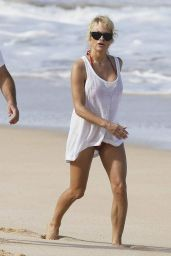 Pamela Anderson Vacationing on the Beach in Hawaii - December 2014