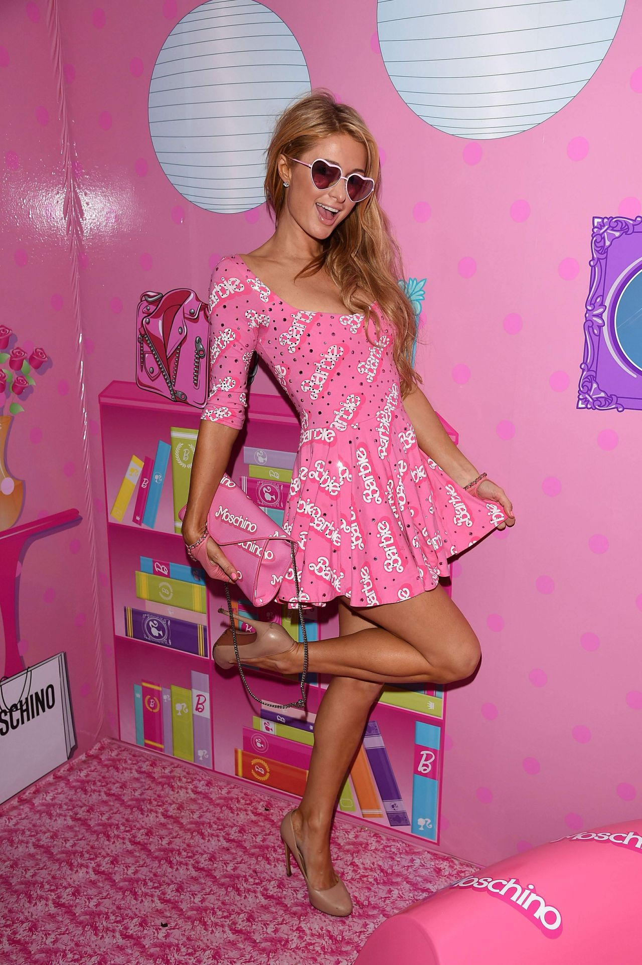 Paris Hilton - Jeremy Scott & Moschino Party in Miami Beach - December ...