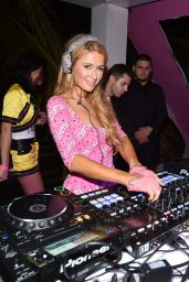 Paris Hilton - Jeremy Scott & Moschino Party in Miami Beach - December 2014