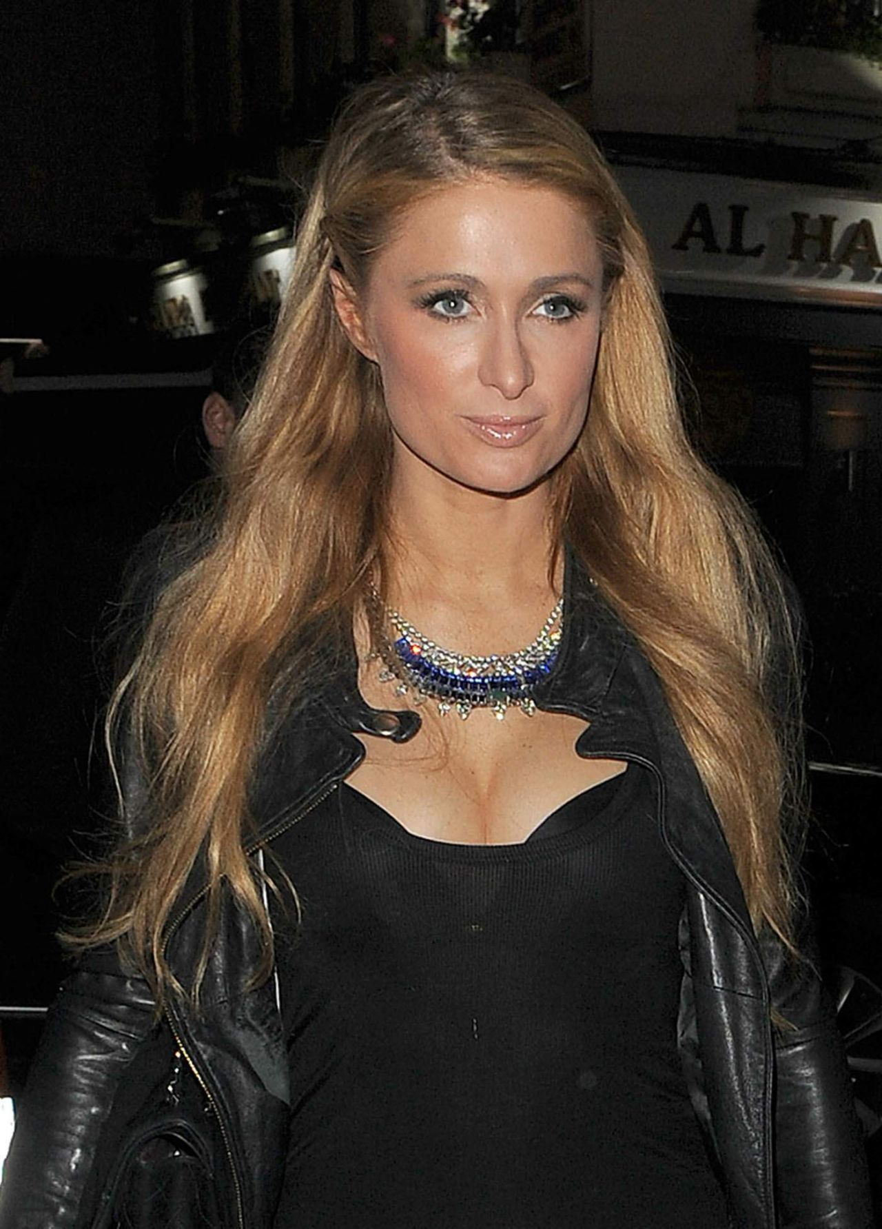 Paris Hilton Night Out Style Out In London December 2014