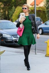 Paris Hilton Style - Out in Beverly Hills - November 2014