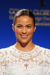 Paula Patton - 2014 Golden Globe Awards Nominations in Los Angeles